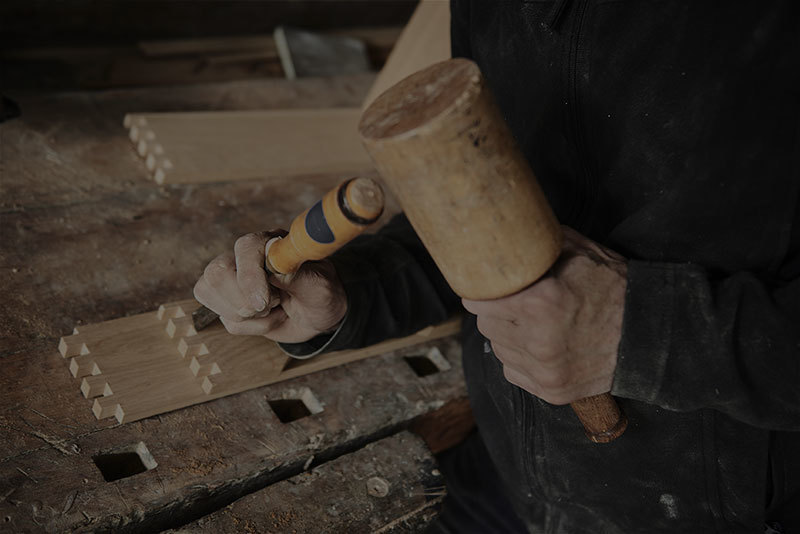 Amish Woodworking Dovetail Joint Customization